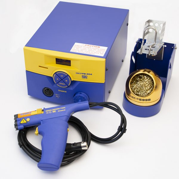 FM-204 Self Contained Desoldering and Soldering Station