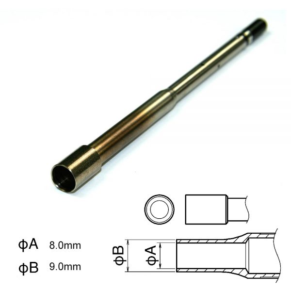 N4-04 8mm Hot Air Nozzle for the FM2029